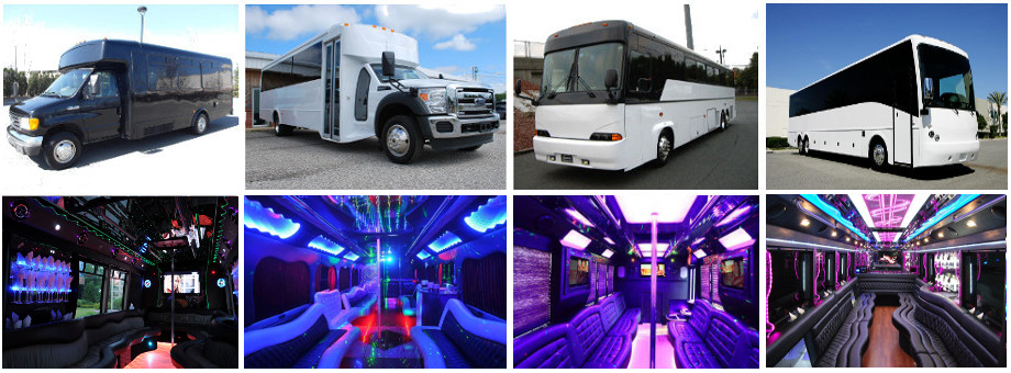 limo party bus rentals greenville